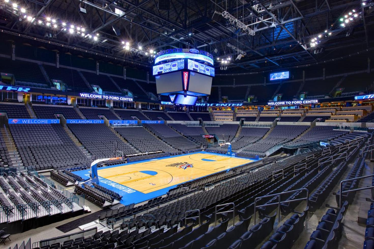 Chesapeake Energy Arena Architecture For Non Majors