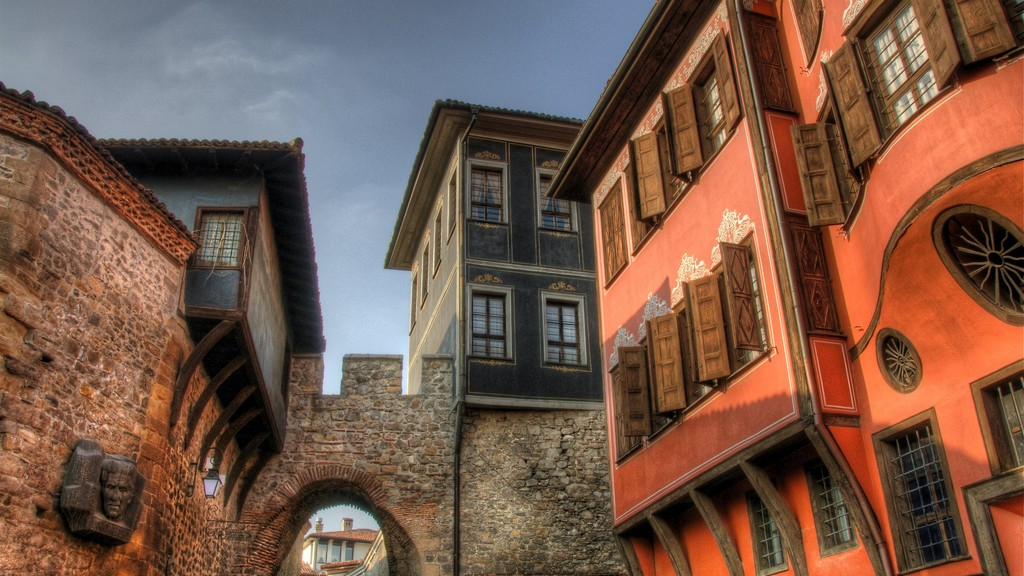 Hisar Kapia, Old Town Plovdiv, BG
