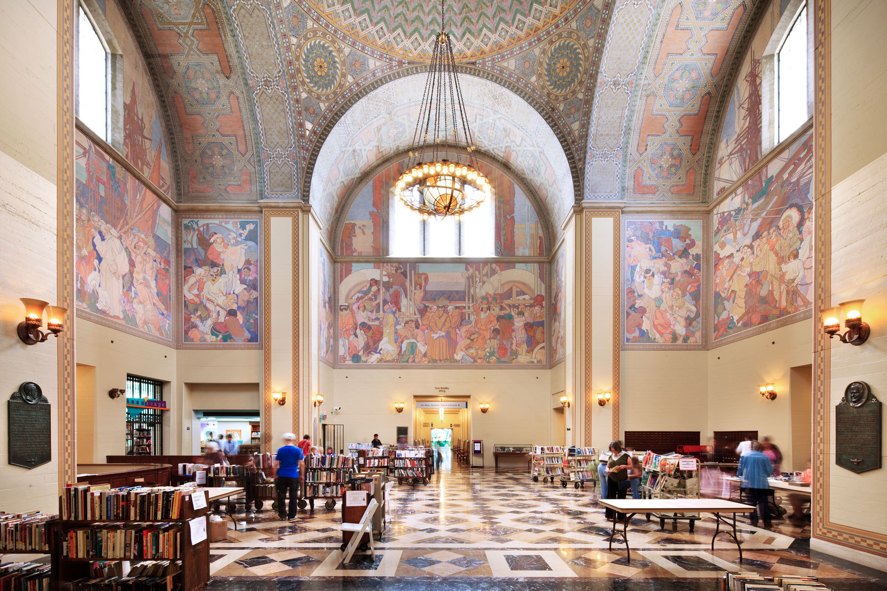 one of my favorite places to go as a child was the library and one of my favorite libraries is the los angeles public library