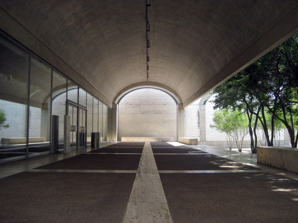 Louis Kahn Kimbell Art Museum Architecture For Non Majors