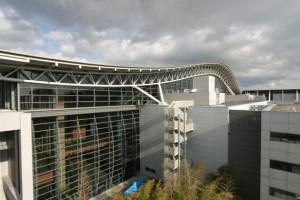 airport terminal exterior